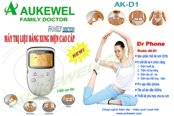 Máy Massager Trị Liệu Aukewell Dr Phone