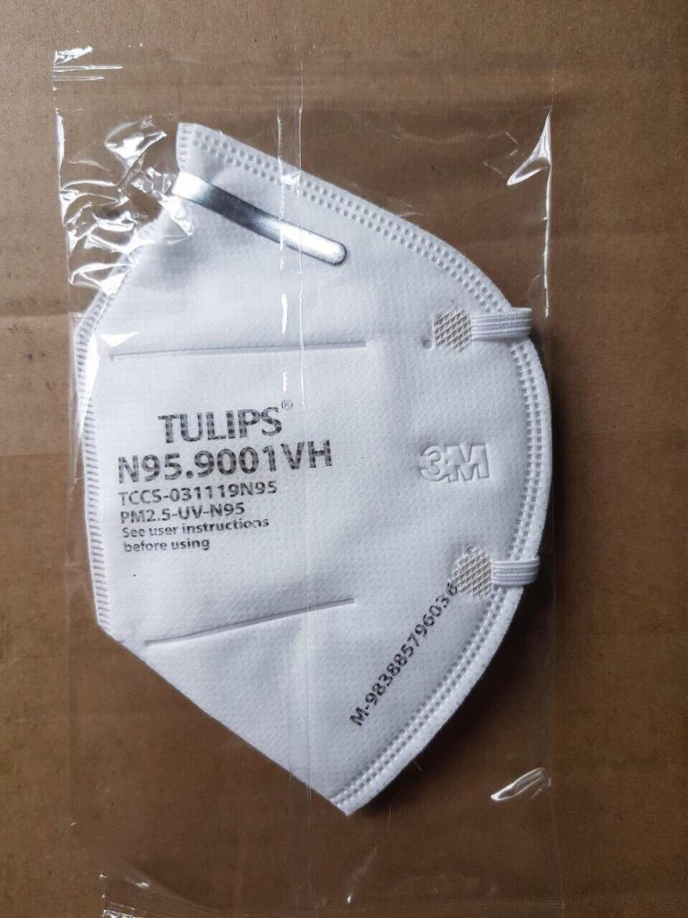 Khẩu Trang Kháng Khuẩn N95 TuLips
